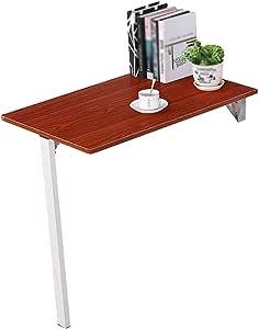 mesa plegable YXX Pared Mesa de Madera Plegable Mesa de Cocina 80 ...