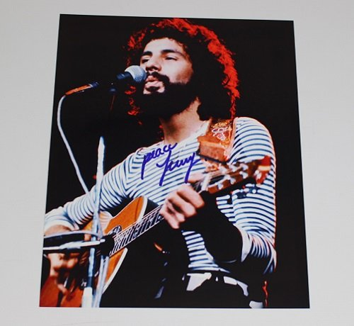 Cat Stevens Yusuf Islam Teaser and the Firecat Signed Autographed 8x10 Glossy Photo Loa