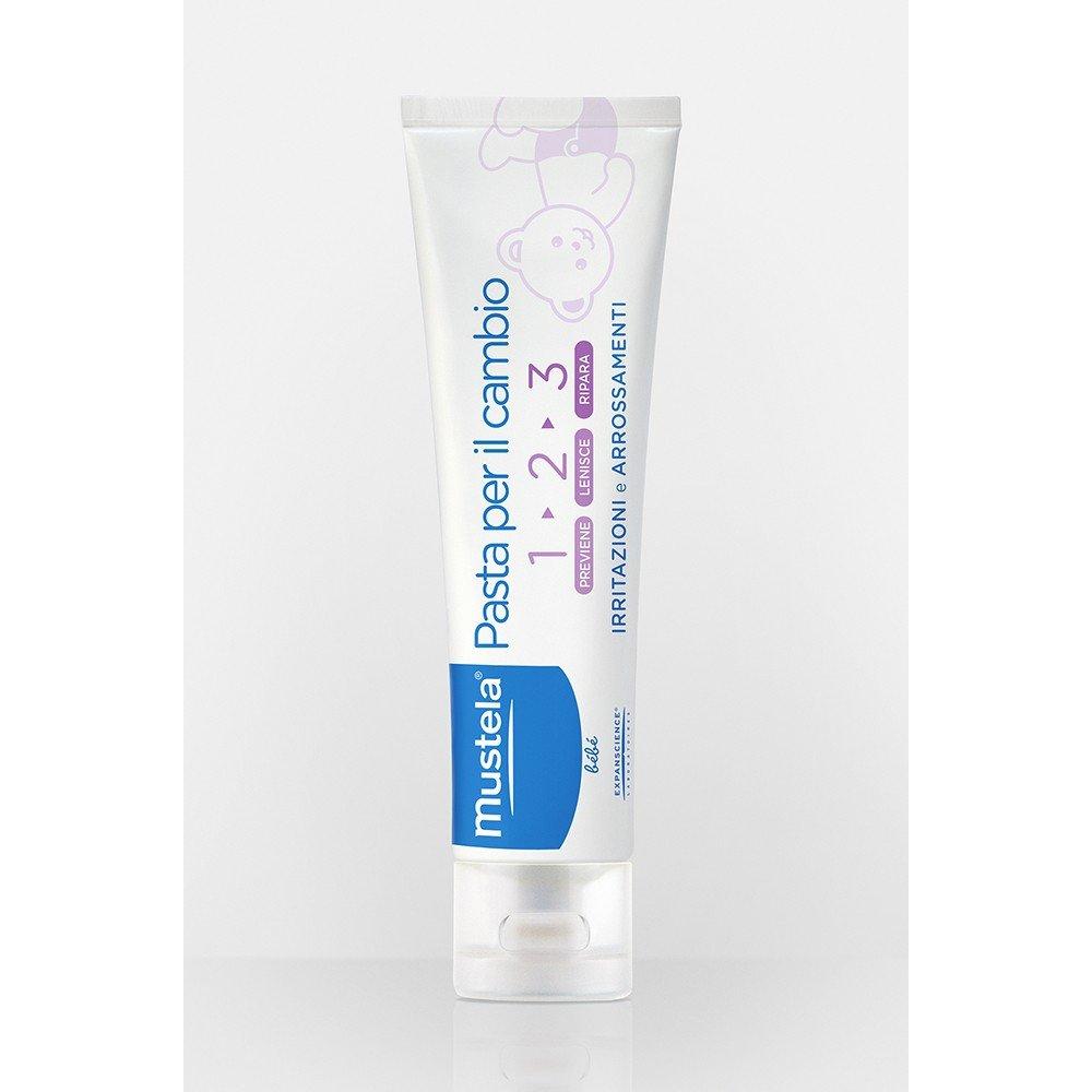2x Mustela Pasta para el cuerpo Cambio - 2 x 100 ml: Amazon.es: Salud y cuidado personal