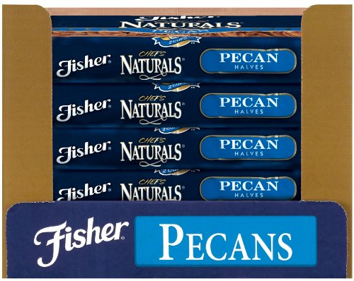 Fisher Pecan Halves, Roasted and Salted, Fancy, Large, 30-Pound Package