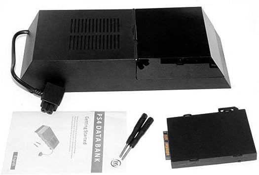 Sanzhileg Caja de Disco Duro PS4 Caja de Disco Duro Externo Extensor de Disco Duro Caja de Disco Duro SATA Soporte para Caja de expansión de 3,5 Pulgadas HDD
