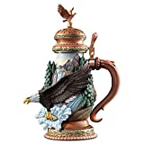 Freedom's Flight American Bald Eagle Porcelain Stein from The Bradford Exchange