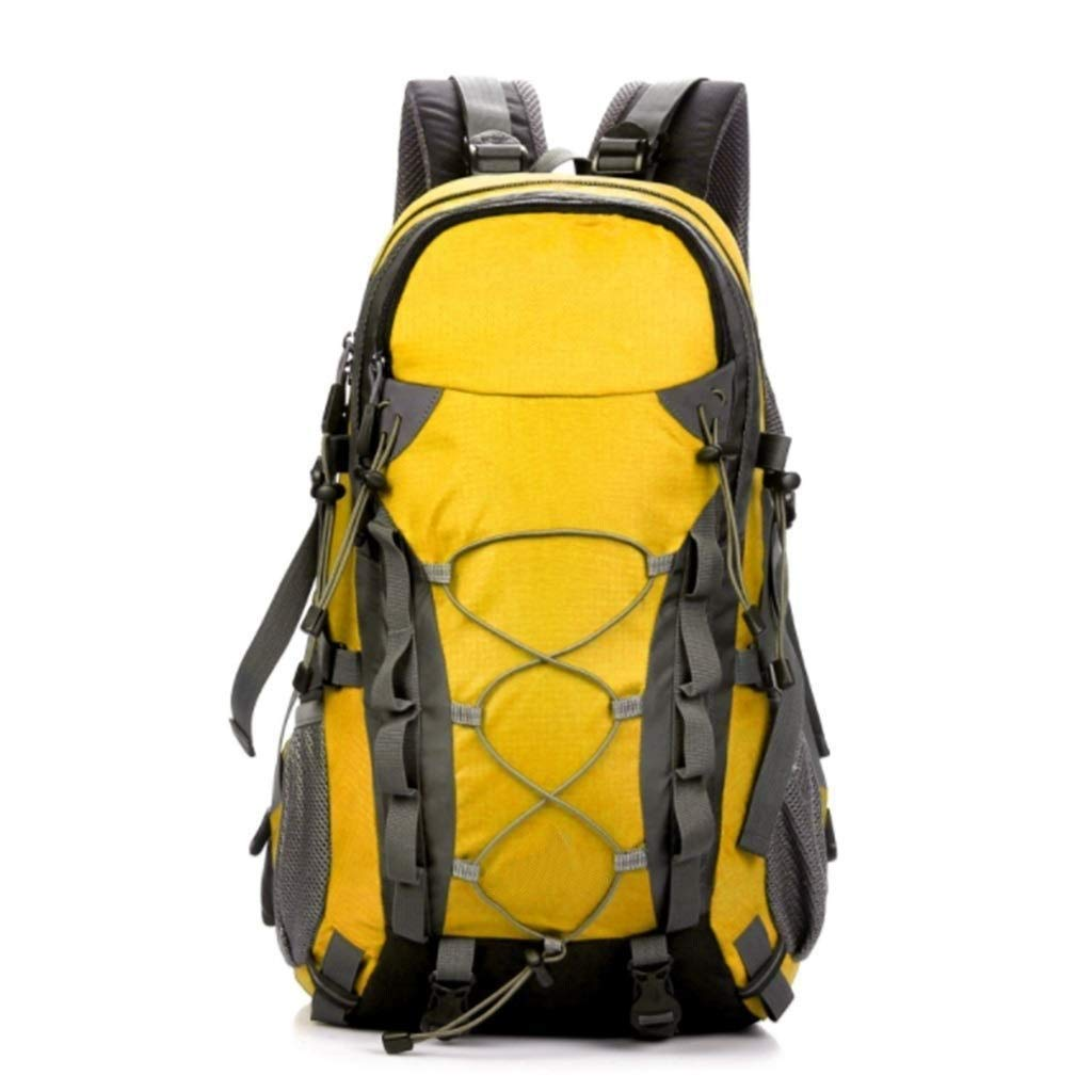 MYXMY Outdoor Fashion Trend Mountaineering Bag 40L Liter Large Capacity Backpack Multi-Functional Durable Hiking Bag (Color : D)