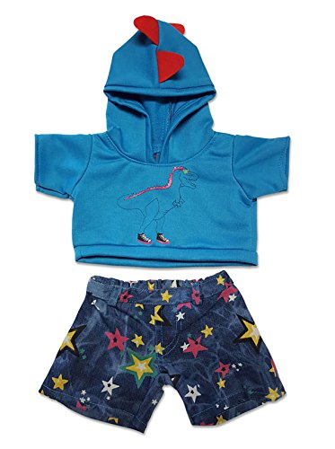 Dino Hoodie and Star Jeans Outfit Fits Most 14