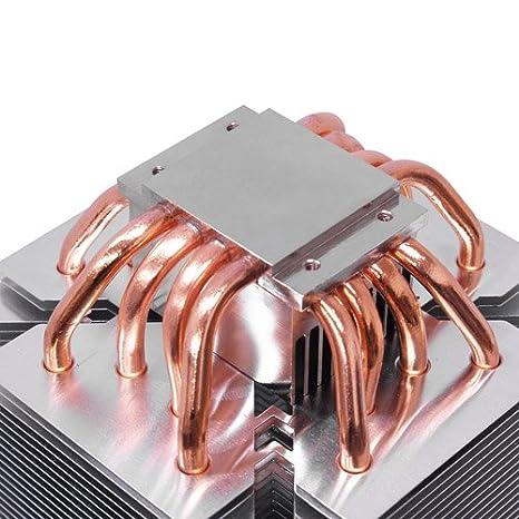 Scythe Ninja 3 Rev.B - Ventilador de CPU (Intensidad Nominal: 0.60 A, diámetro del Ventilador: 120 mm), Negro, Plata