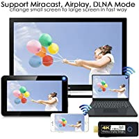 YeHua 4K Mirascreen Dongle wireless display adapter 1080P HDMI/MHL double kernal CPU change ios to android easily Wifi miracast airplay DLNA