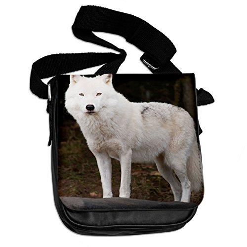 Arctic Wolf Animale Borsa A Tracolla 011