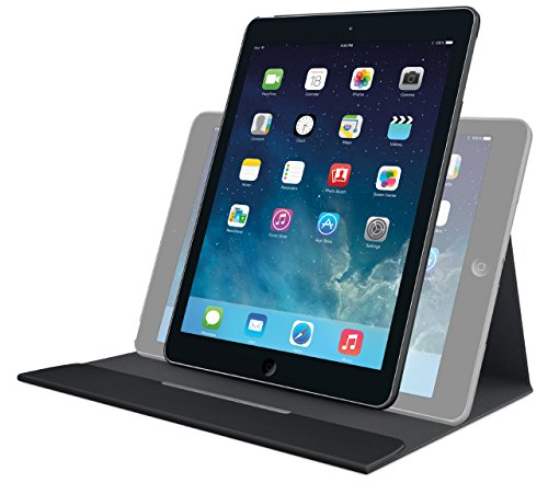 Logitech Turnaround Case with Rotating Frame and Multi-Angle Stand for iPad Air (939-000838) (Certified Refurbished) from Logitech