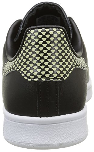 adidas Men's Stan Smith Low-Top Sneakers Black (Core Black/Core Black/Ftwr White) U4IRjGl6