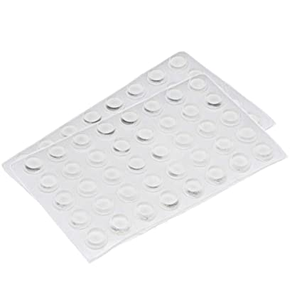 Amazon.com: rocutus 80pcs adhesiva transparente almohadilla ...