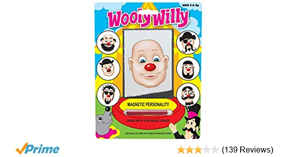 Wooly willy magnetic game kids iron hair stocking filler Christmas gift toy