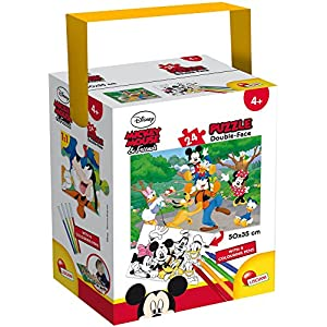 Lisciani Giochi Mickey Puzzle In A Tub Mini 24 Pezzi 35 X 50 Cm 652400