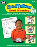 HandTalkers for Word Meaning, Treva Stevens, Edith McCollom, 1586505289