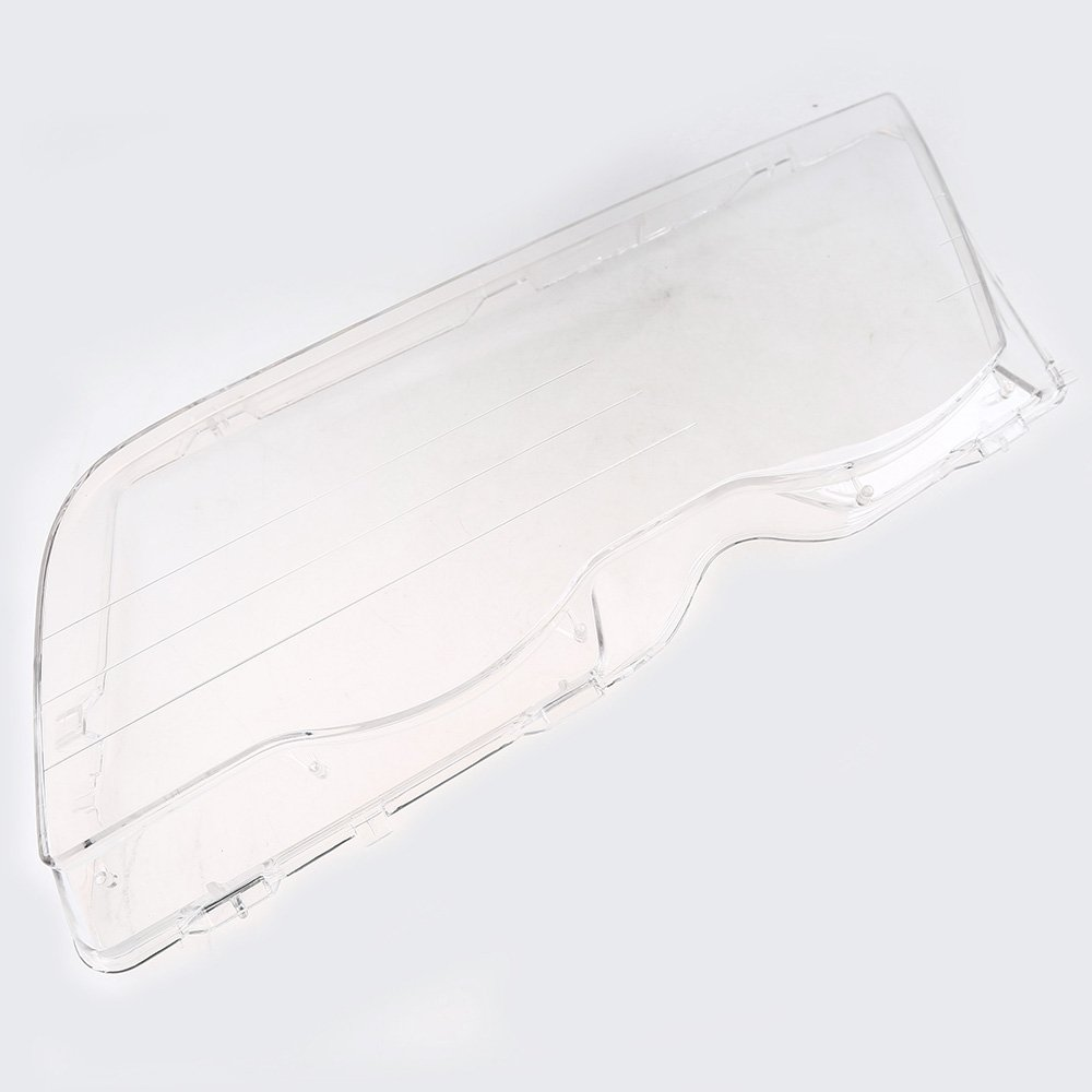 Lichtscheibe Scheinwerfer Abdeckung Fahrerseite&Beifahrerseite Transparent Glä ser, Plastik POSSBAY