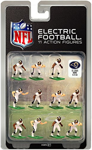 St. Louis RamsWhite Uniform NFL Action Figure Set