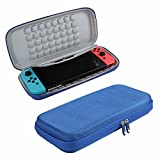 Hard EVA Travel Blue Case for Nintendo Switch by Hermitshell