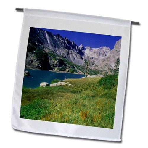Sandy Mertens Colorado - Lake Isabelle Indian Peaks Wilderness - 18 x 27 inch Garden Flag (fl_26272_2)