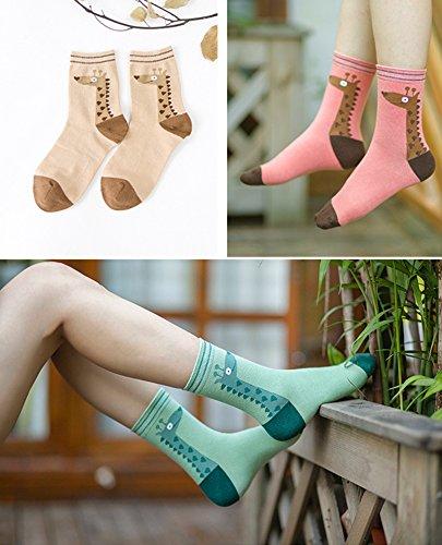 Giraffe Cotton Socks