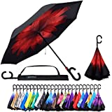 Reverse Inverted Inside Out Umbrella - Upside Down