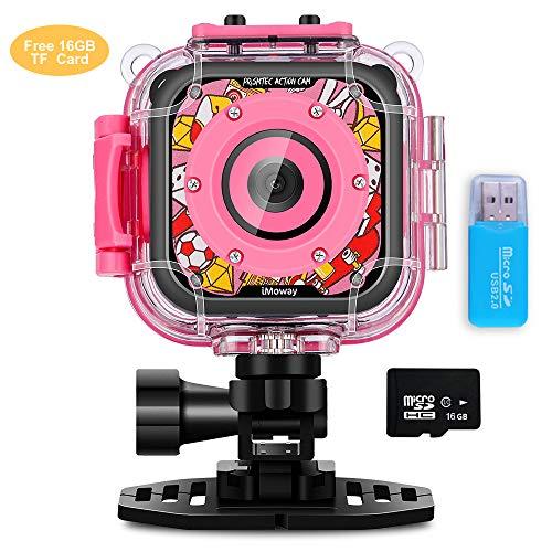 Pink Digital Waterproof Camera - 8