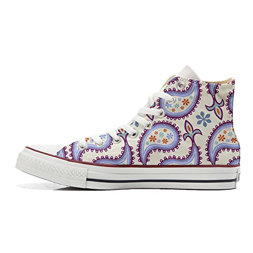 Paisley Produkt personalisierte Decorative All Star Handwerk Customized Schuhe Converse pzUqA