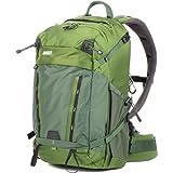 MindShift BackLight 26L Backpack for DSLR Camera, Mirrorless Camera, Lenses, Flashes, 15'' Laptop and Tablet, Woodland Green