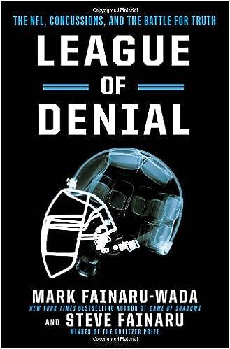 11f83703bc4 Amazon.com: League of Denial: The NFL, Concussions and the Battle for Truth  (9780770437541): Mark Fainaru-Wada, Steve Fainaru: Books