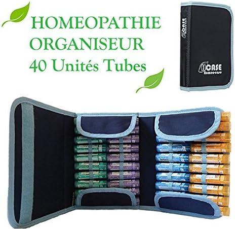 Estuche homeopatía 40 unidades azul: Amazon.es: Salud y cuidado personal