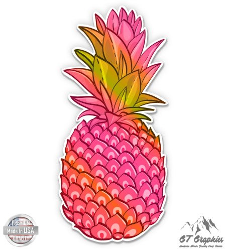 Pineapple Pink Tropical Vibes - 3