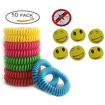 Amazon Com 150 Pack Mosquito Bug Repellent Bracelet Band