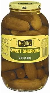 product image for Mt. Olive Sweet Gherkins - 2 qt. jar