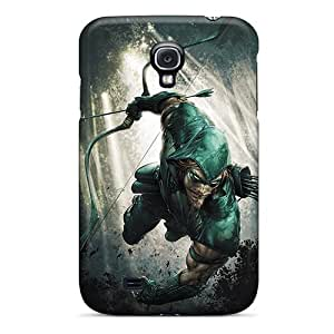 Ideal TubandaGeoreb Cases Covers For Galaxy S4(green Arrow I4), Protective Stylish Cases