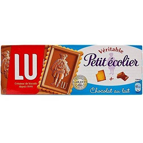 LU Veritable Petit Ecolier Milk Chocolate Biscuits 150g - Pack of 2