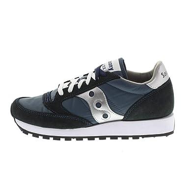 a1242e1c64 Amazon.com   Saucony Mens Jazz Original Navy/Silver Boston Sneaker ...