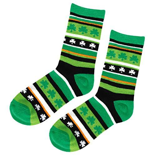 St. Patrick's Day Irish Crew Sock, Adult I 6 Ct. Green