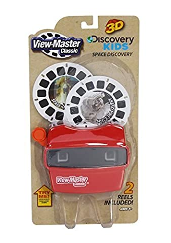 View Master Classic Viewer with 2 Reels Space Discovery Toy - Discovery Viewer