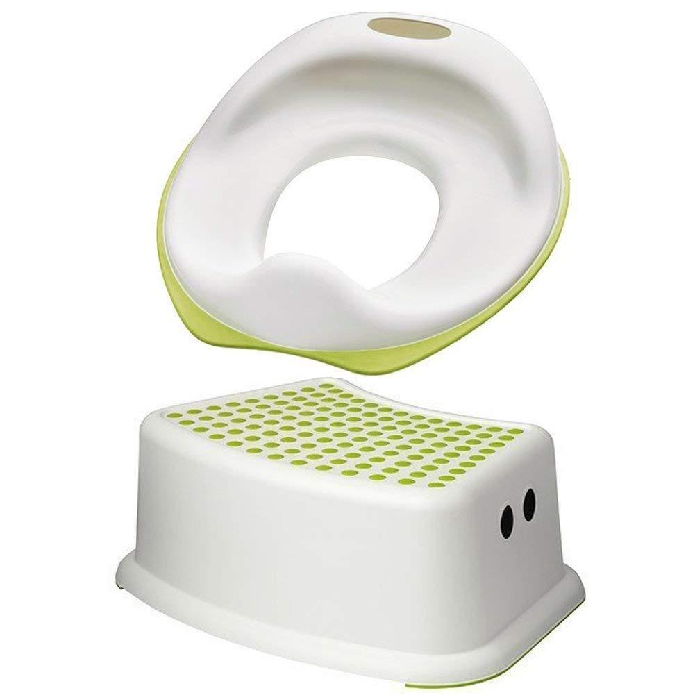Ikea Tossig siège de toilettes d'apprentissage pour enfant avec marche-pied