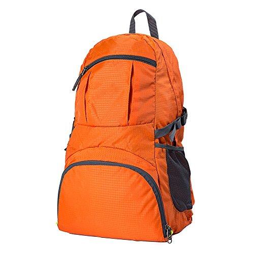 Pliable Business Voyage D'affaires Felicioo A4 Banlieue vol Grande Multifonctions Bag Dos Orange color Populaire Anti Capacité Black Étanche À Sac aZw6qdwS