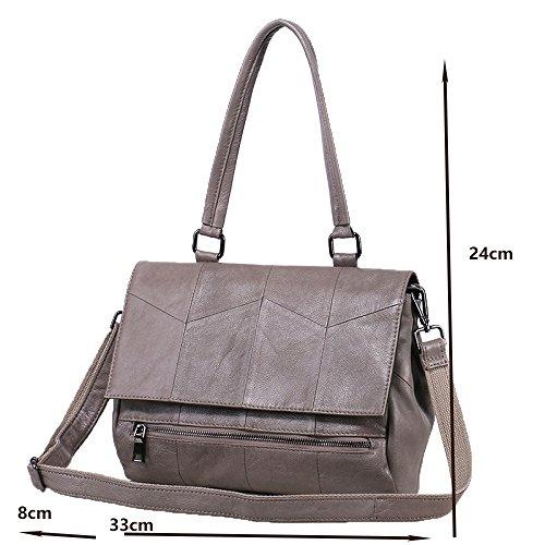 Black Wild New Shoulder Handbag Bag Casual 2018 Leather Handbag Messenger Bag Ladies PH4wqR