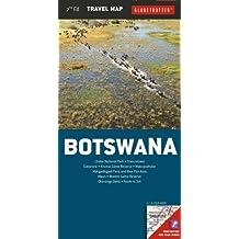 Botswana Travel Map