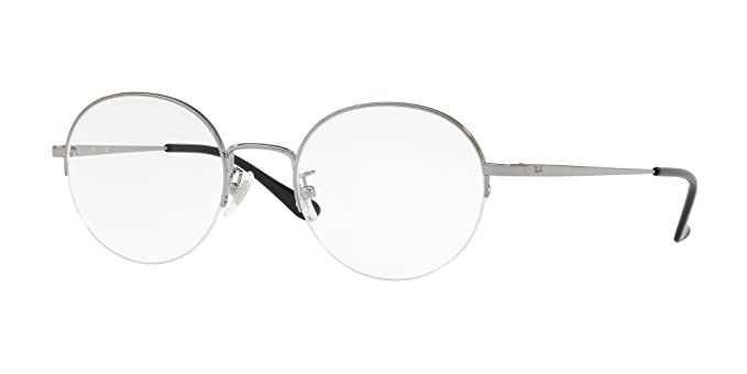 3a9687d918 Image Unavailable. Image not available for. Color  RAY-BAN RX6417D - 2502  EYEGLASSES GUNMETAL 51MM