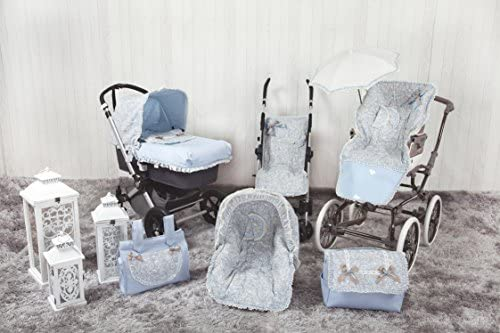 Colchoneta para silla grupo 0 color azul Babyline Caramelo