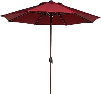Abba Patio 9' Patio Umbrella Outdoor Table Market Umbrella