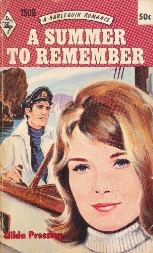 A Summer to Remember (Harlequin Romance, No. 1509)