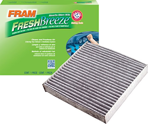 FRAM CF10549 Fresh Breeze Cabin Air Filter with Arm & Hammer
