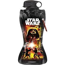 Vandor 99210 Star Wars 24 oz Collapsible Water Bottle, Multicolor