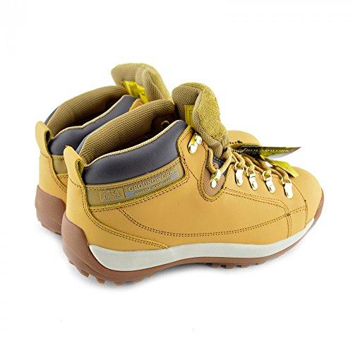 Groundwork Gr77 - Zapatos de Seguridad adultos, unisex MIEL-GR387