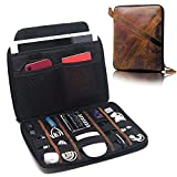 Electronics, Cables and Cord Organizer for Travel and Desk - Holds 9.7-inch Tablet and Accessories