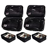 ZUCA Organizer 7-Pack: Set of Four Mini and Three Large Packing Pouches