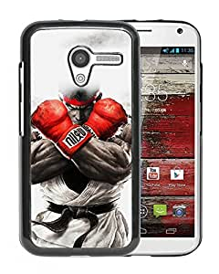 Unique Designed Cover Case For Motorola Moto X With Ah Street Fighter Ryu Art Illust Game Phone Case